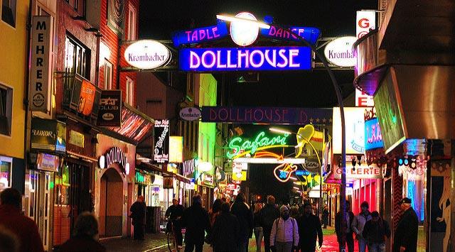 hvor skal man bo i Hamborg - St. Pauli og Reeperbahn